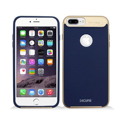 ECLIPSE**PDA**For Apple iPhone 7 5.5 Plus Slim Fit Dual Hybrid Protective Cover, Blue