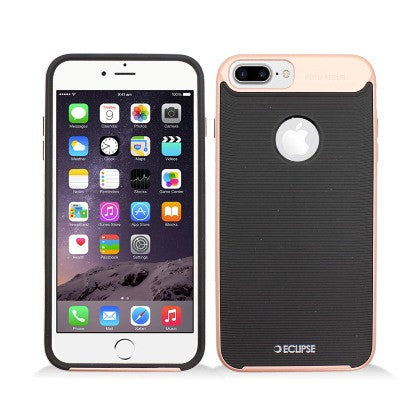 ECLIPSE**PDA**For Apple iPhone 7 5.5 Plus Slim Fit Dual Hybrid Protective Cover, Rose Gold