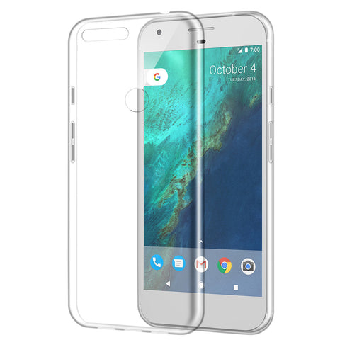 GOOGLE PIXEL HIGH QUALITY CRYSTAL SKIN CASE CLEAR