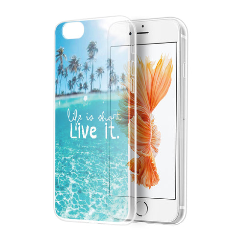 APPLE IPHONE 7 MIRAGE SERIES SOFT TPU COVER CASE - PARADISE  COVE