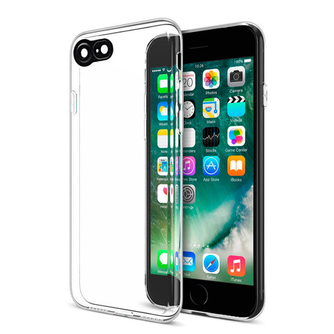 APPLE IPHONE 7 THE CAT EYES HIGH QUALITY TPU CASE WITH       CAMERA LENS PROTECTOR - CLEAR