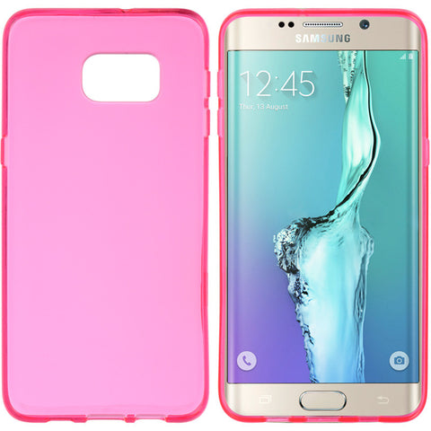 SAMSUNG GALAXY  S6 EDGE PLUS HIGH QUALITY CRYSTAL SKIN  HOT PINK   HOT PINK CASE