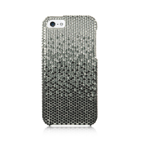 APPLE iPhone 5/5S FULL DIAMOND CASE CASCADE SL BK