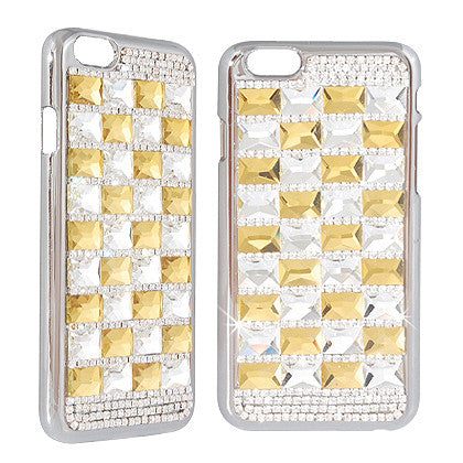 """Crystal"" For Apple iPhone 6/ 6S (4.7-inch) Crystal Diamond Case, Gold"