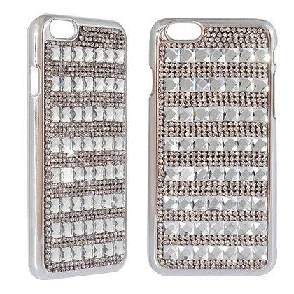 """Crystal"" For Apple iPhone 6/ 6S (4.7-inch) Crystal Diamond Case, Black"