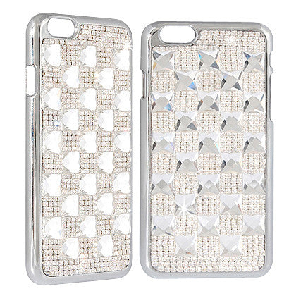 """Crystal"" For Apple iPhone 6/ 6S (4.7-inch) Crystal Diamond Case, White"