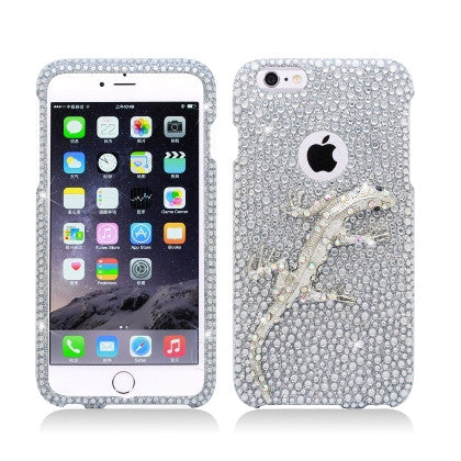 **PDA**For Apple iPhone 6/6S plus 5.5 inch 3D Full Diamond Protector, Lizard