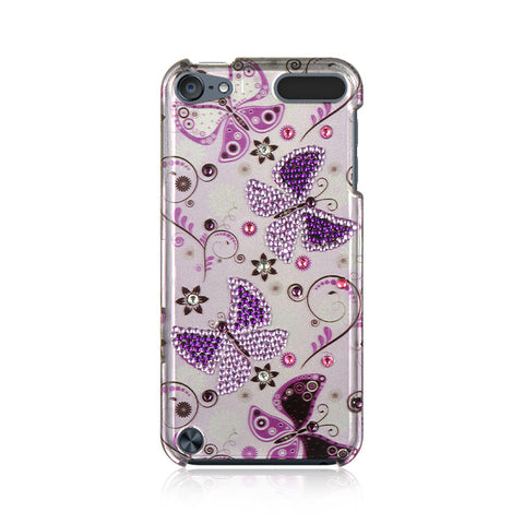 6 SPOT DIAMOND CASE LADY BUTTERFLY