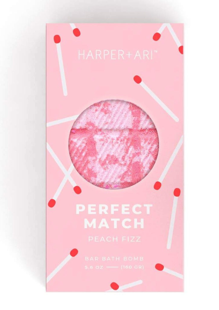 Perfect Match Peach Fizz Bath Bar