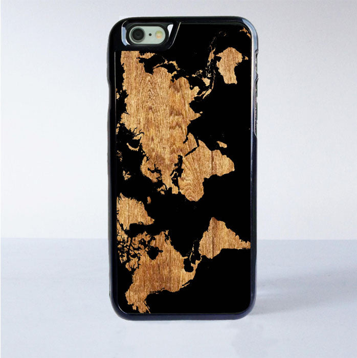 World Map Iphone 6s Case.World Map Wood Iphone 6s Case Casemighty