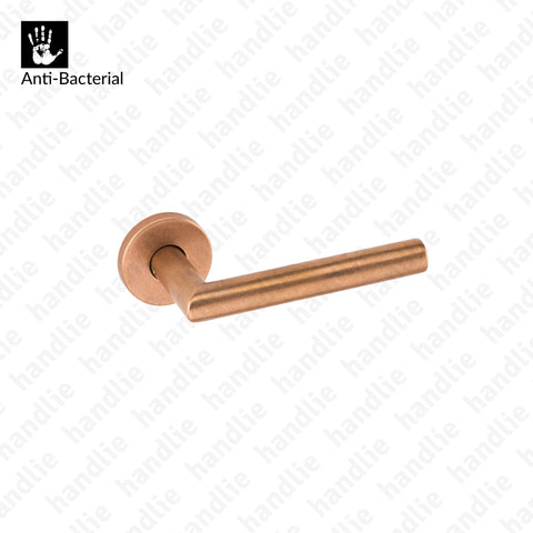 BZ.00.030.RBO8M - Puxador Times - Anti-Bacterial - Bronze