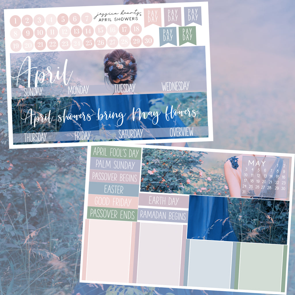 April Showers April 2020 Monthly Kit