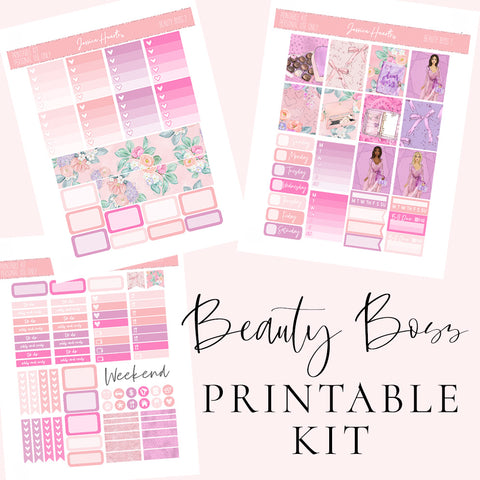 Disco Queen Printable Sticker Kit (Download)