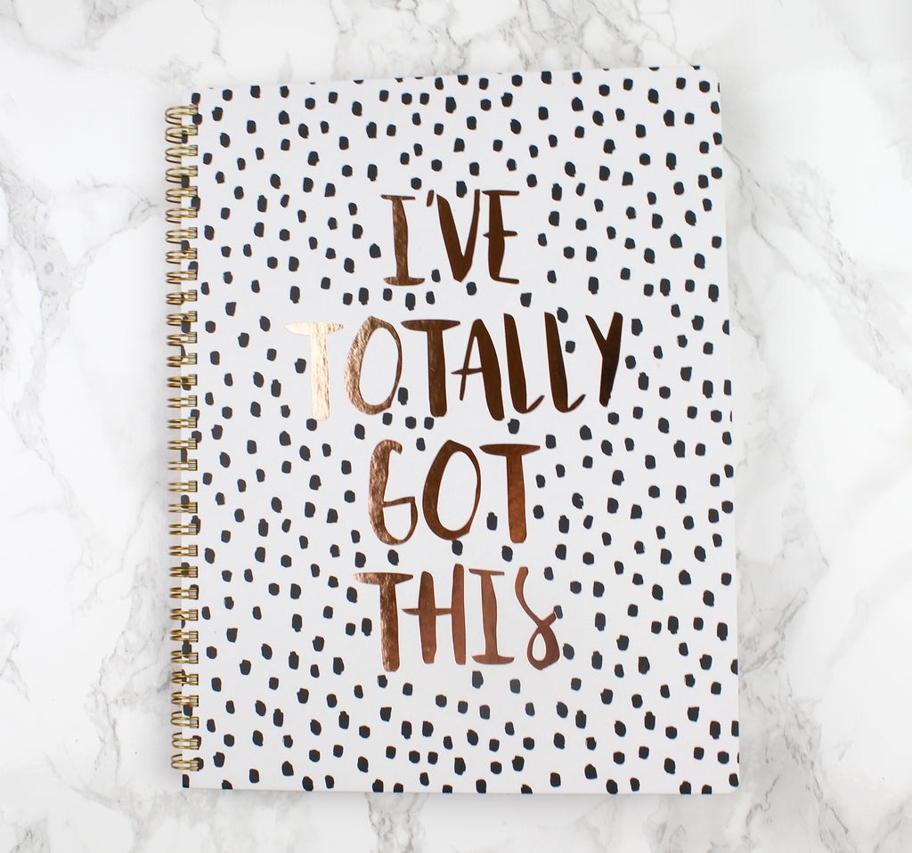 Boss Babe Notebook, notebook - Jessica Hearts