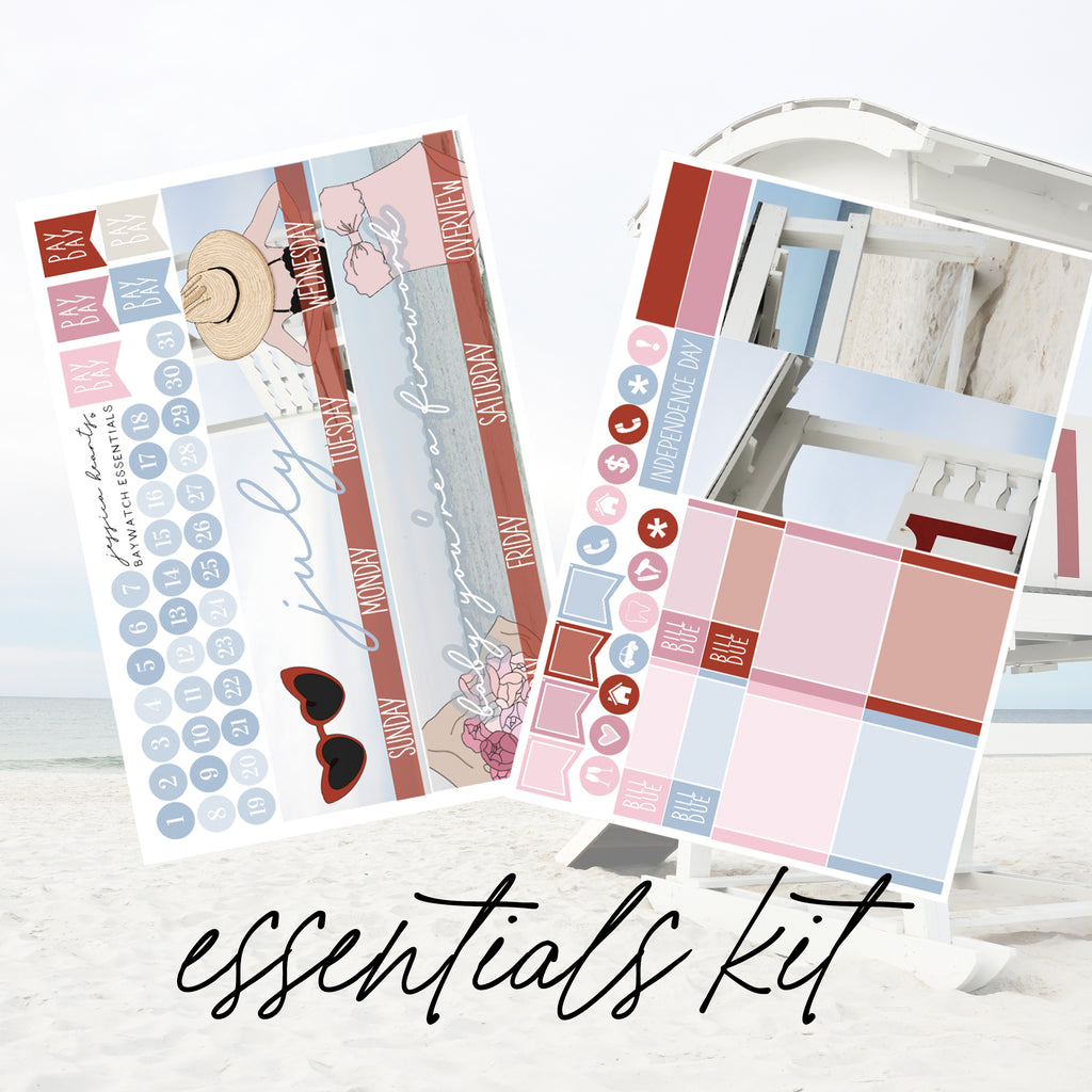 Baywatch July 2020 ESSENTIALS Monthly Kit