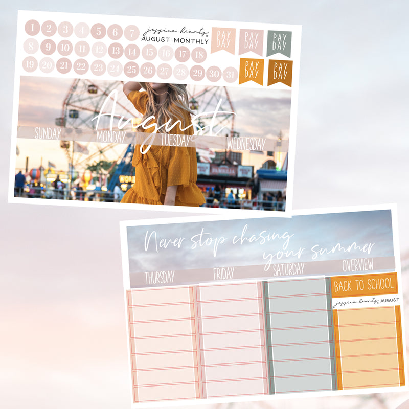 Boardwalk August 2019 Monthly Kit