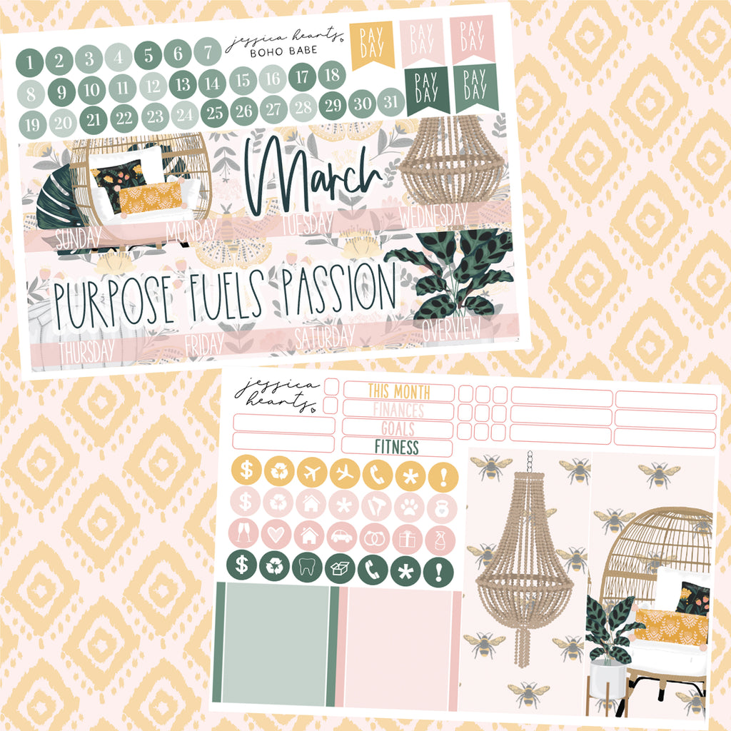 Boho Babe March 2020 Monthly Kit