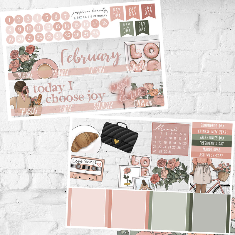 C'est La Vie February 2021 Monthly Kit