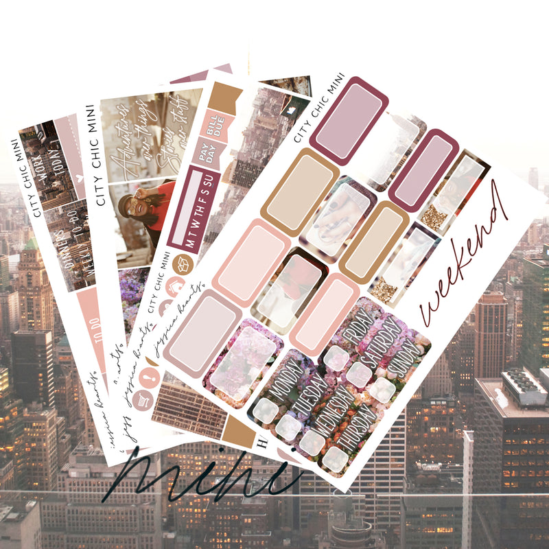 City Chic MINI Sticker Kit