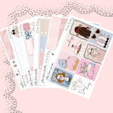 Dear Diary Weekly Sticker Kit