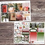Dear Santa Weekly Sticker Kit,  - Jessica Hearts