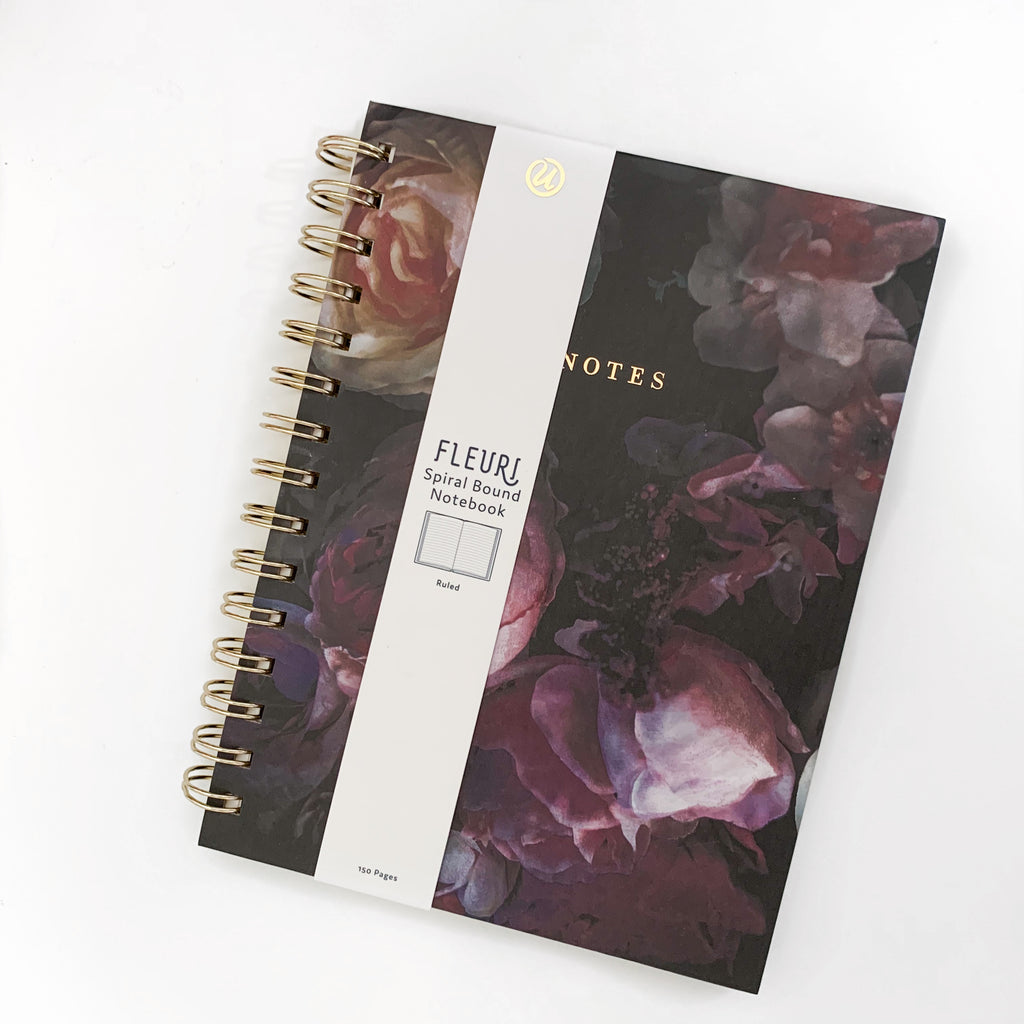 Fleuri Spiral Bound Notebook