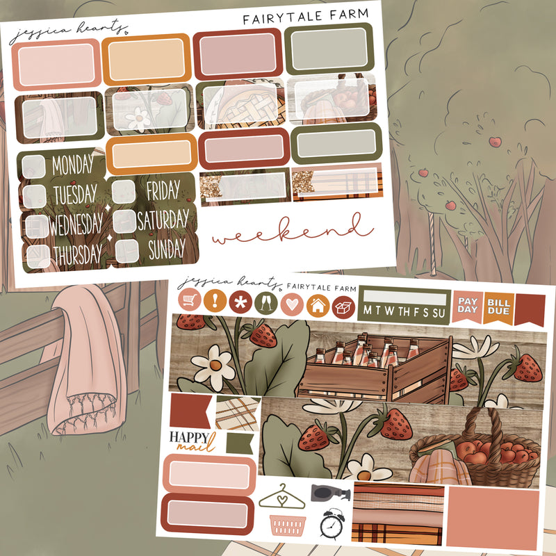 Fairytale Farm MINI Sticker Kit