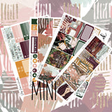 Fall Leaves Mini Weekly Sticker Kit,  - Jessica Hearts