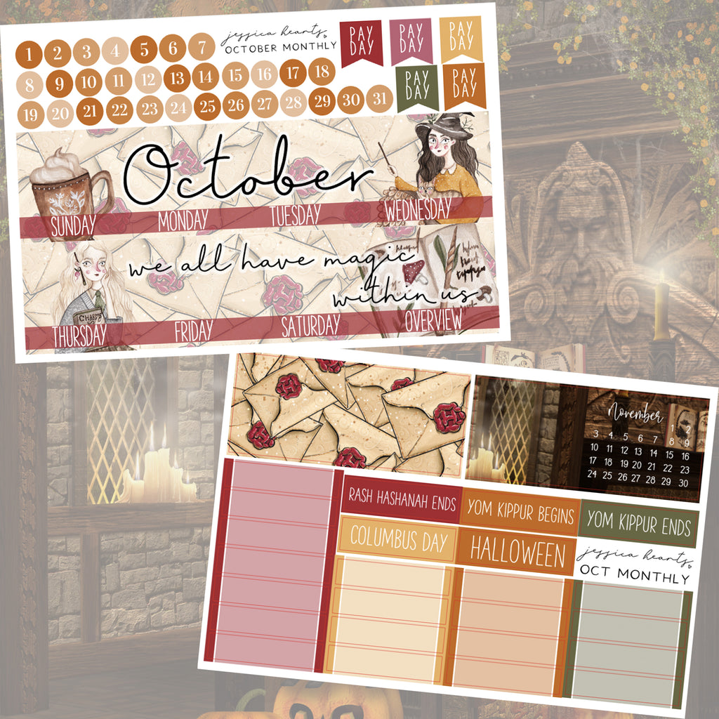 First-Year October 2019 Monthly Kit