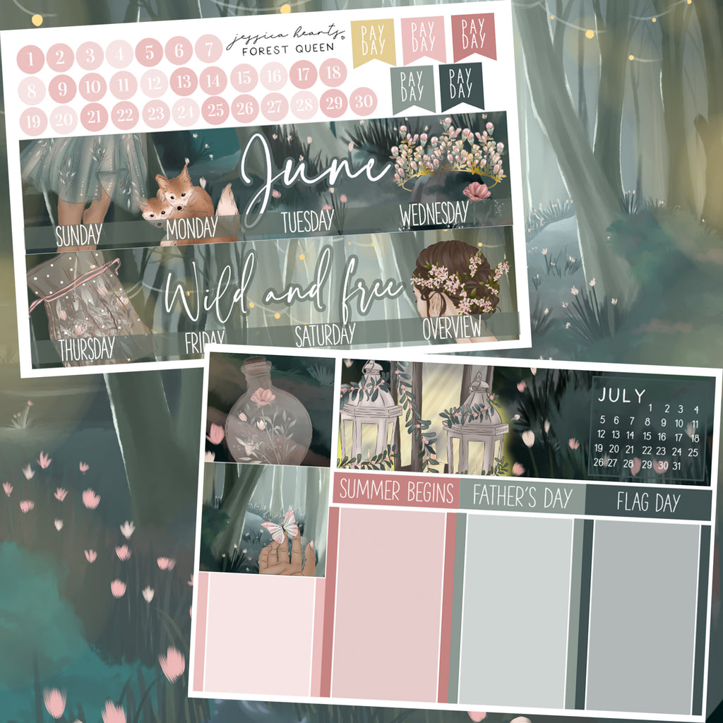 Forest Queen June 2020 Monthly Kit