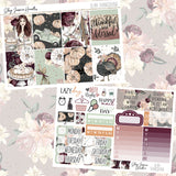 Glam Thanksgiving Weekly Sticker Kit,  - Jessica Hearts