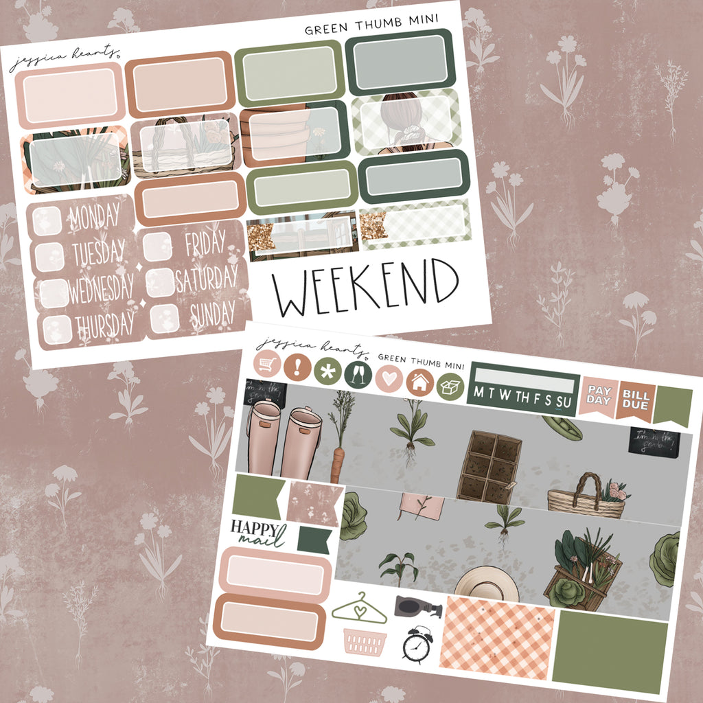 Green Thumb MINI Sticker Kit