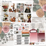 Harvest Wishes Weekly Sticker Kit