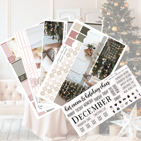 New Year's Eve Weekly Sticker Kit