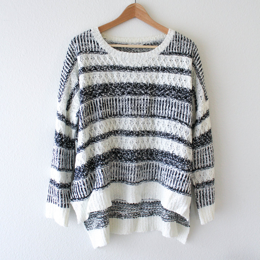 ELLE SWEATER TOP, TOPS - Jessica Hearts
