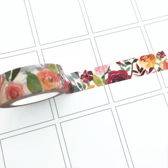 Late Summer Washi Tape Limited Edition,  - Jessica Hearts
