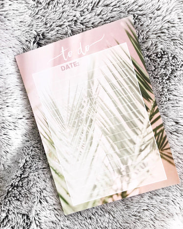 Palm To Do Notepad, notepad - Jessica Hearts