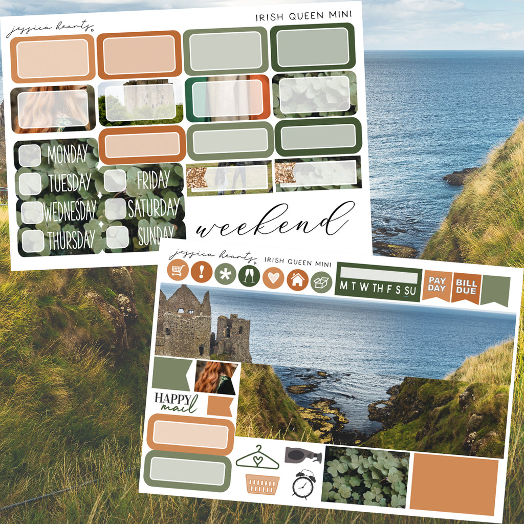 Irish Queen MINI Sticker Kit