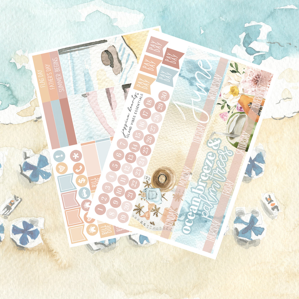Island Vibes June 2021 ESSENTIALS Monthly Kit