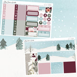Let it Snow Weekly Sticker Kit,  - Jessica Hearts