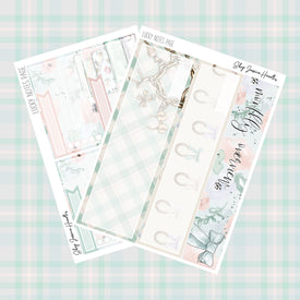 Lucky March Notes Page Kit