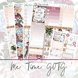 Me Time (Girl On the Go Planner Sticker Kit),  - Jessica Hearts