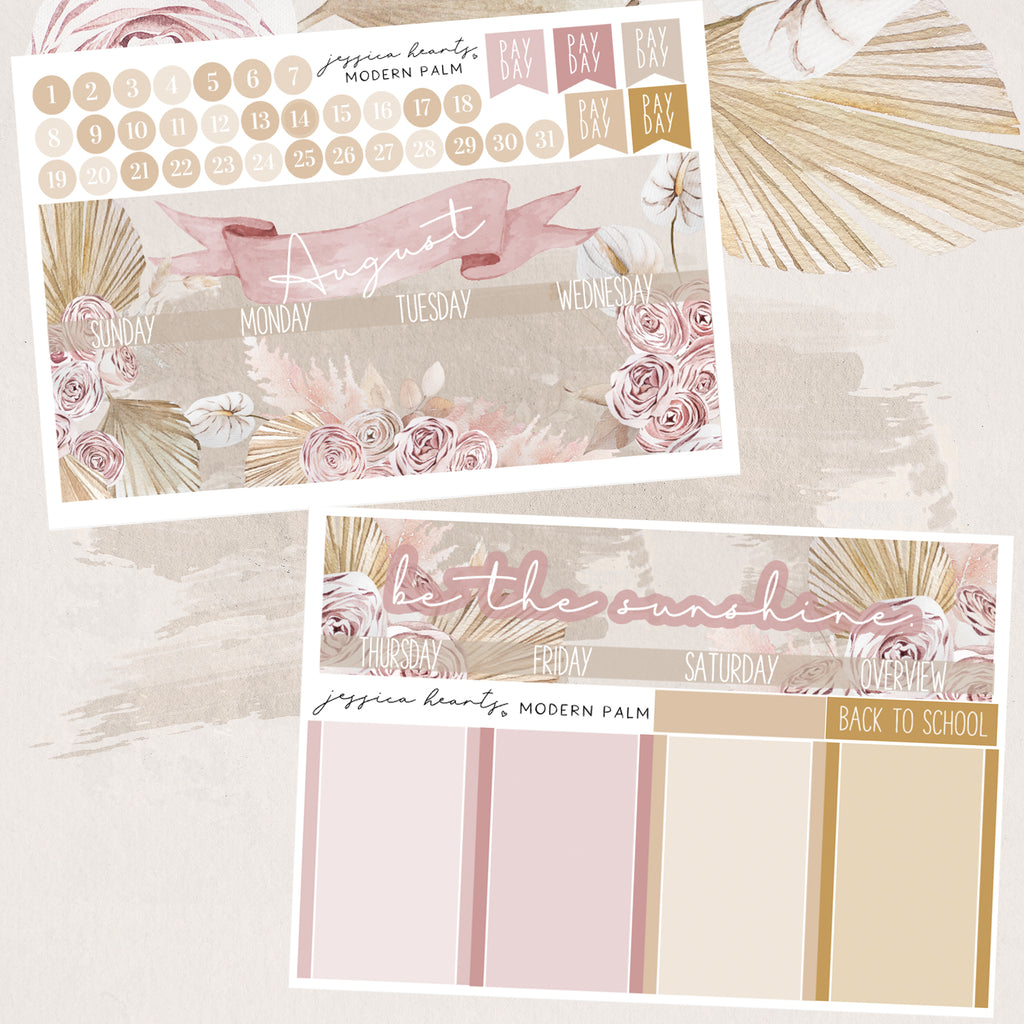 Modern Palm August 2020 Monthly Kit