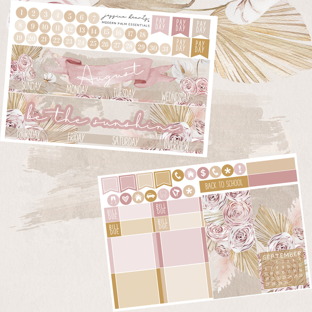Modern Palm August 2020 ESSENTIALS Monthly Kit