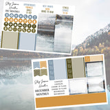 Mountain Lake December Monthly Kit,  - Jessica Hearts