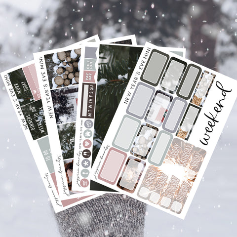 A Winter's Day MINI Sticker Kit