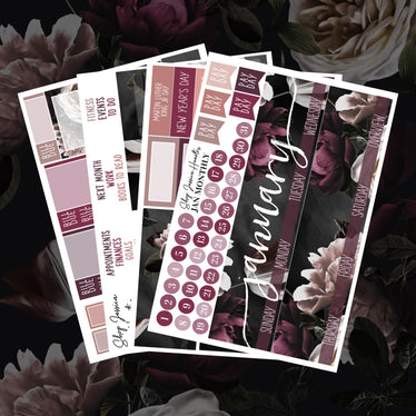 New Bloom January Monthly Kit,  - Jessica Hearts