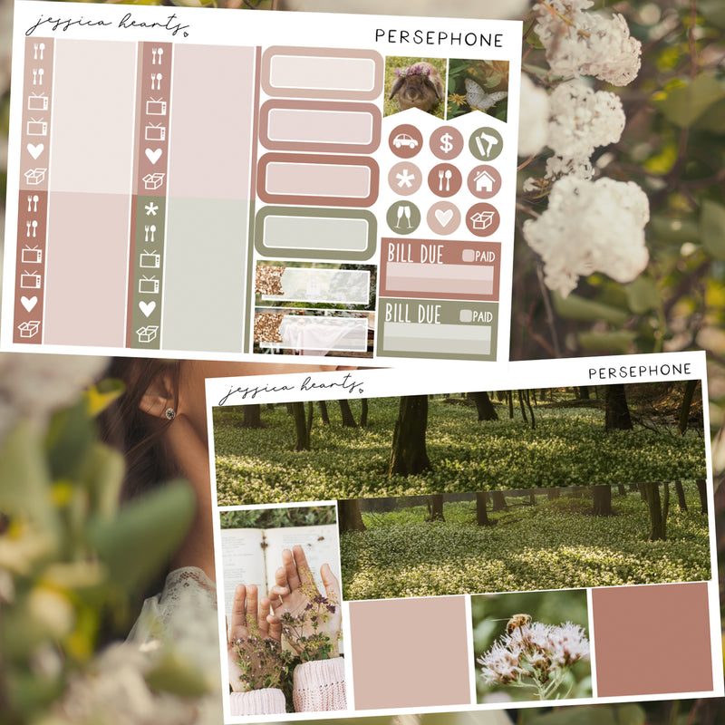 Persephone Weekly Sticker Kit