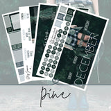 Pine December Monthly Kit,  - Jessica Hearts