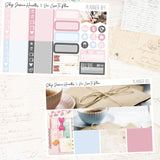 Planner BFF Weekly Sticker Kit / Collab with Viv Luvs To Plan, stickers - Jessica Hearts